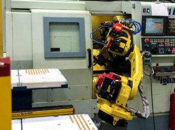 CELLULE ROBOTISÉE DE CHARGEMENT/DÉCHARGEMENT MACHINES OUTILS