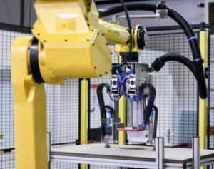Cellule robotisée de palettisation cartons
