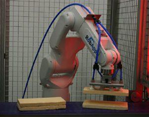 Cellule robotisée d'assemblage produits