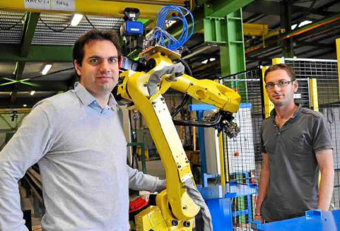 Robapps, société de robotique et d'automatisme située en Vendée (Pays de la Loire)
